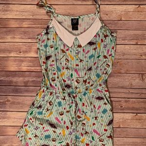 Hot topic honeydukes romper